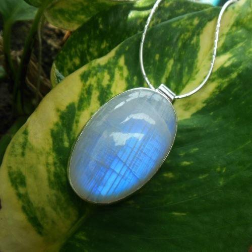 Rainbow moonstone pendant necklace oval gemstone silver pendant rainbow moonstone pendant necklace oval gemstone silver pendant aloadofball Images