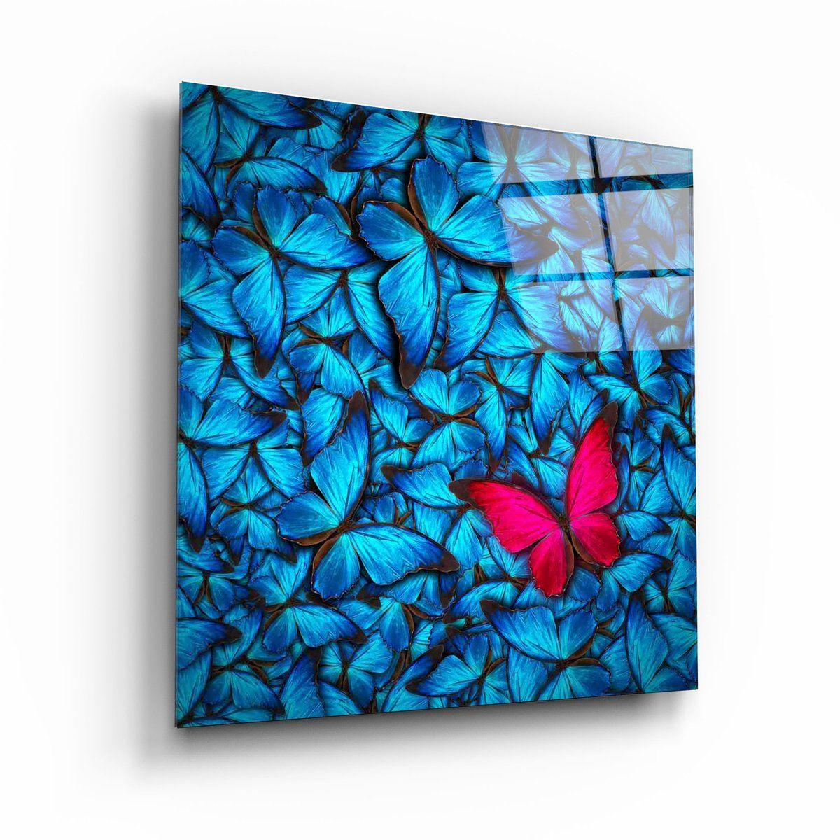 Butterfly Glass Wall Art Artdesigna Glass Printing Wall Art Glass Printing Glass Wall Art Glass Painting