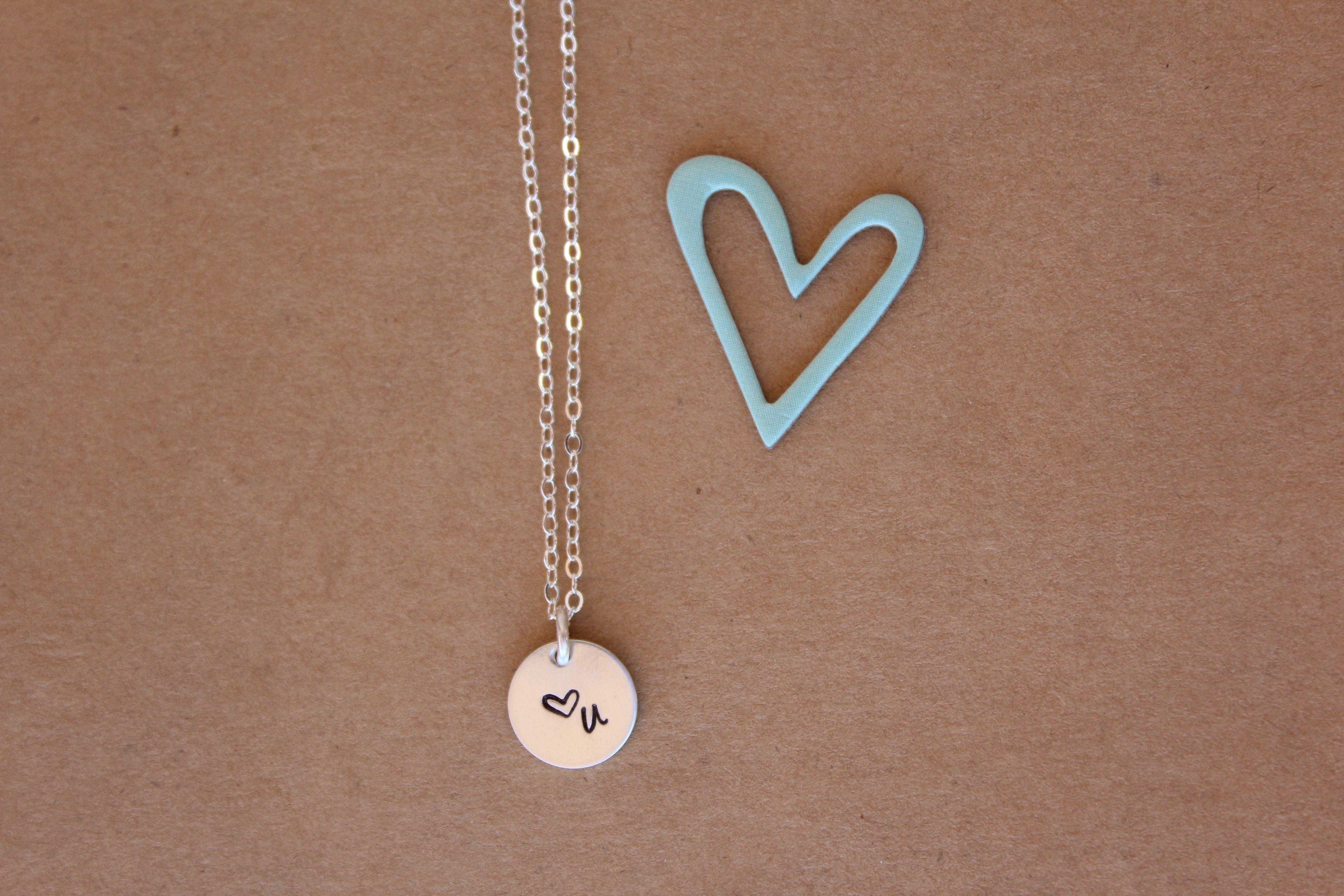 <3 this handstamped necklace! #love #handstampednecklace