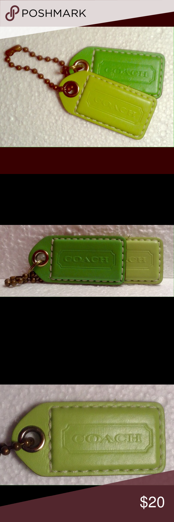 Coach tags Authentic coach purse tags Coach Other