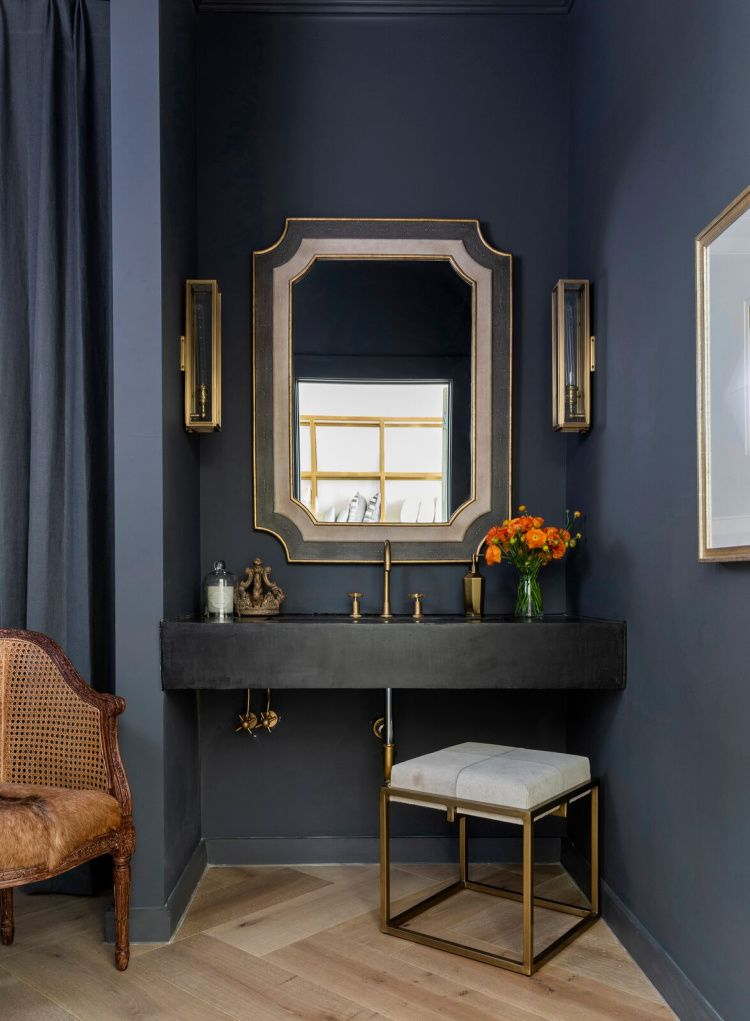 Top 10 Favorite: Powder Rooms Big on Style - Design Chic