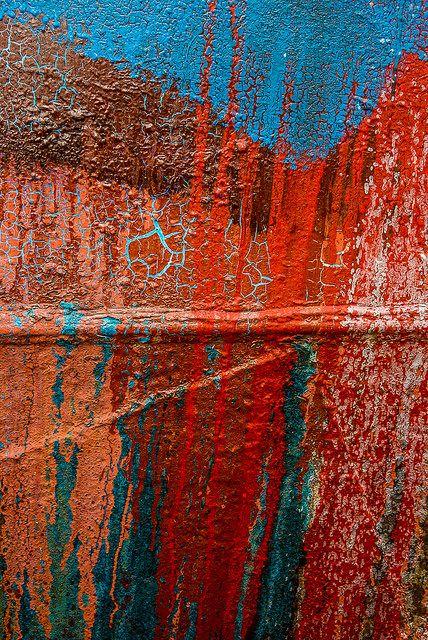 Abandoned Boat by Janet Little Jeffers