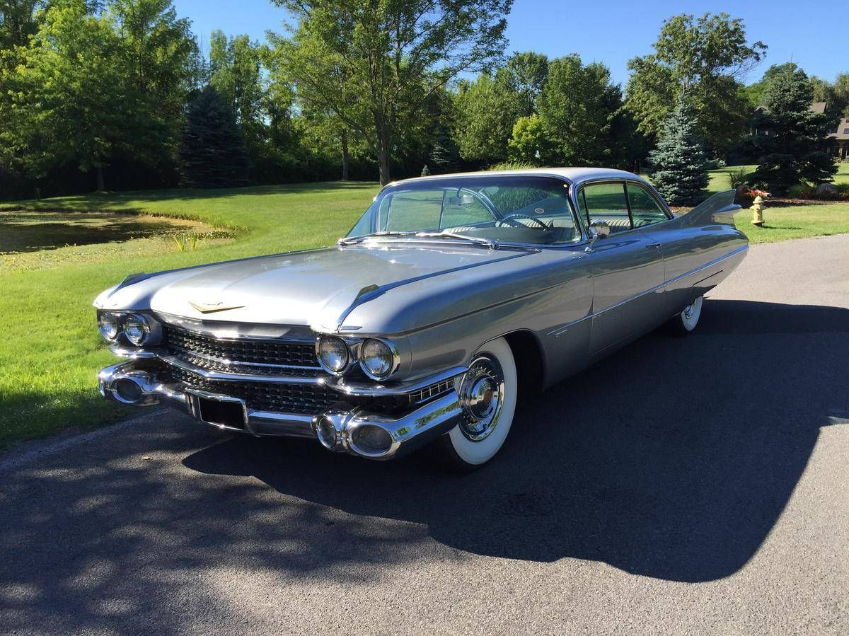 1959 cadillac deville coupe hard top series 62