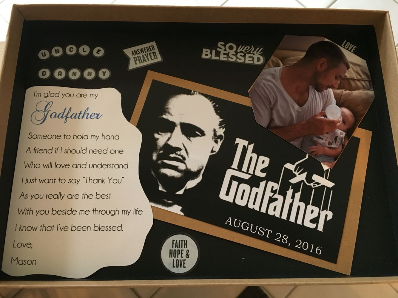 Godfather Gift Masonsbaptism Godfather Gifts Godparent Gifts Baby Boy Baptism