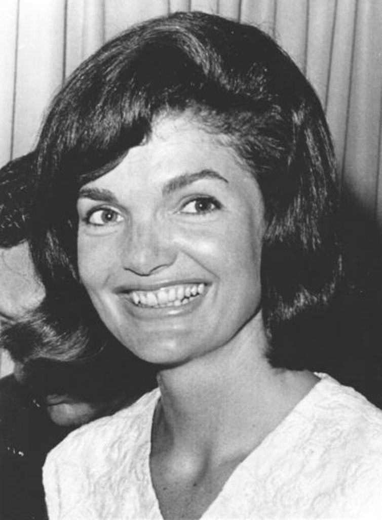 """First Lady Mrs ~~Jacqueline Lee (Bouvier) Kennedy Onassis """"Jackie"""" (July 28, 1929 – May 19, 1994) was the wife of the 35th President of the United States, John F. Kennedy her style, elegance, and grace. She was a fashion icon; her famous ensemble of pink Chanel suit and matching pillbox hat has become symbolic of her husband's assassination and one of the lasting images of the 1960s. She was named to the International Best Dressed List Hall of Fame in 1965.. ❀♡✿♡❁♡✾♡✽♡"""