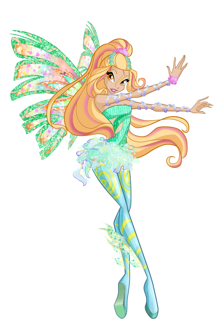 Winx club daphne enchantix winx club daphne sirenix by - Winx magic bloomix ...