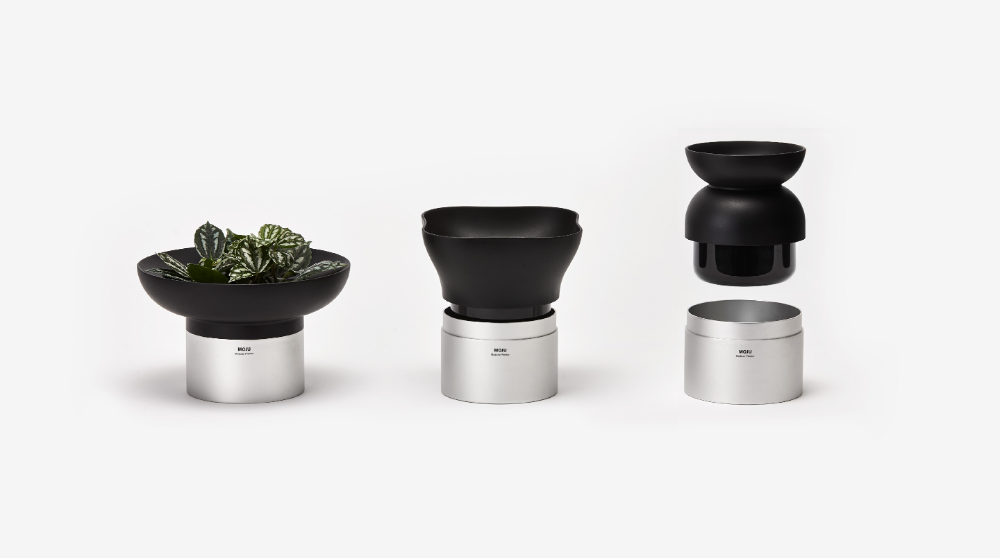 Moju Is A Series Of 5 Indoor Plant Pots Whose Compact Size And Clean Lines Can Complement Any Room Moju Comes Fro Planters Indoor Plant Pots Indoor Planters