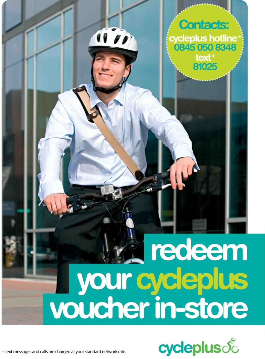 We are now accepting Cycleplus vouchers. If you want to