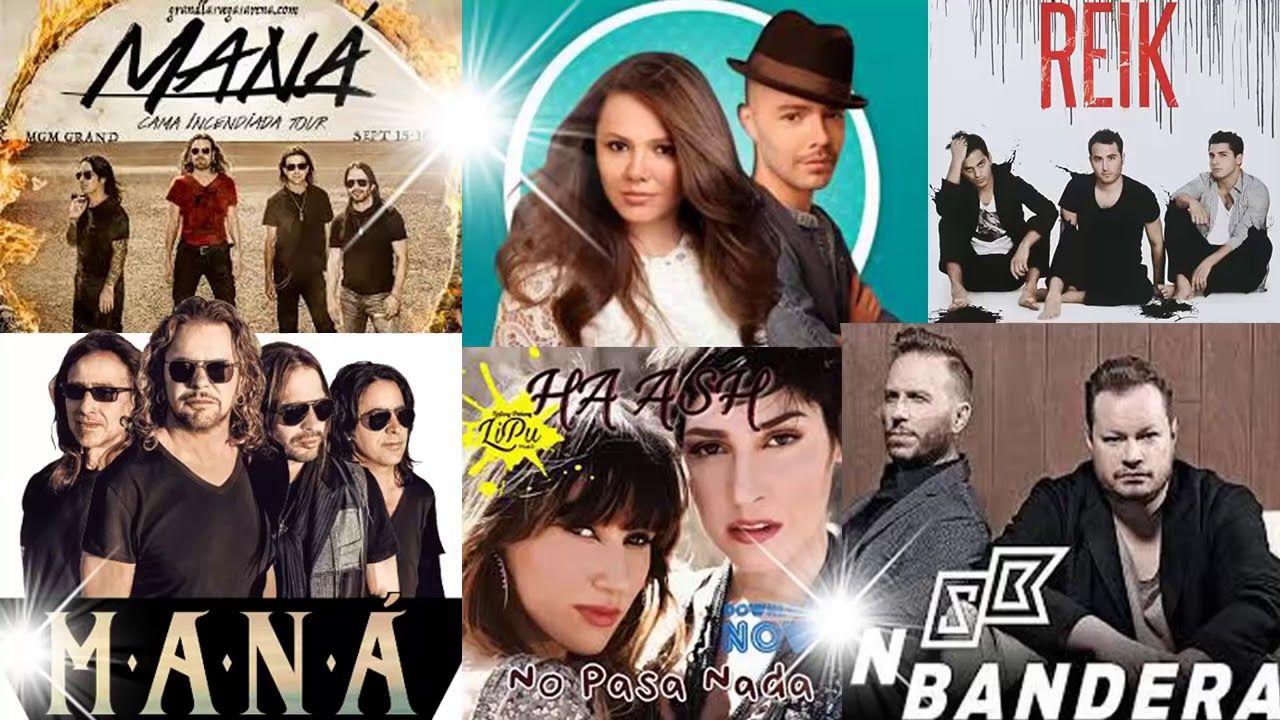 Ash Jessy Y Joy Sin Bandera Reik Camila Mana Rio Roma Mix Exitos Youtube Leonel García Youtube Music Publishing
