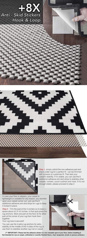 Area Rug Underlay Pad Carpet Vidalondon