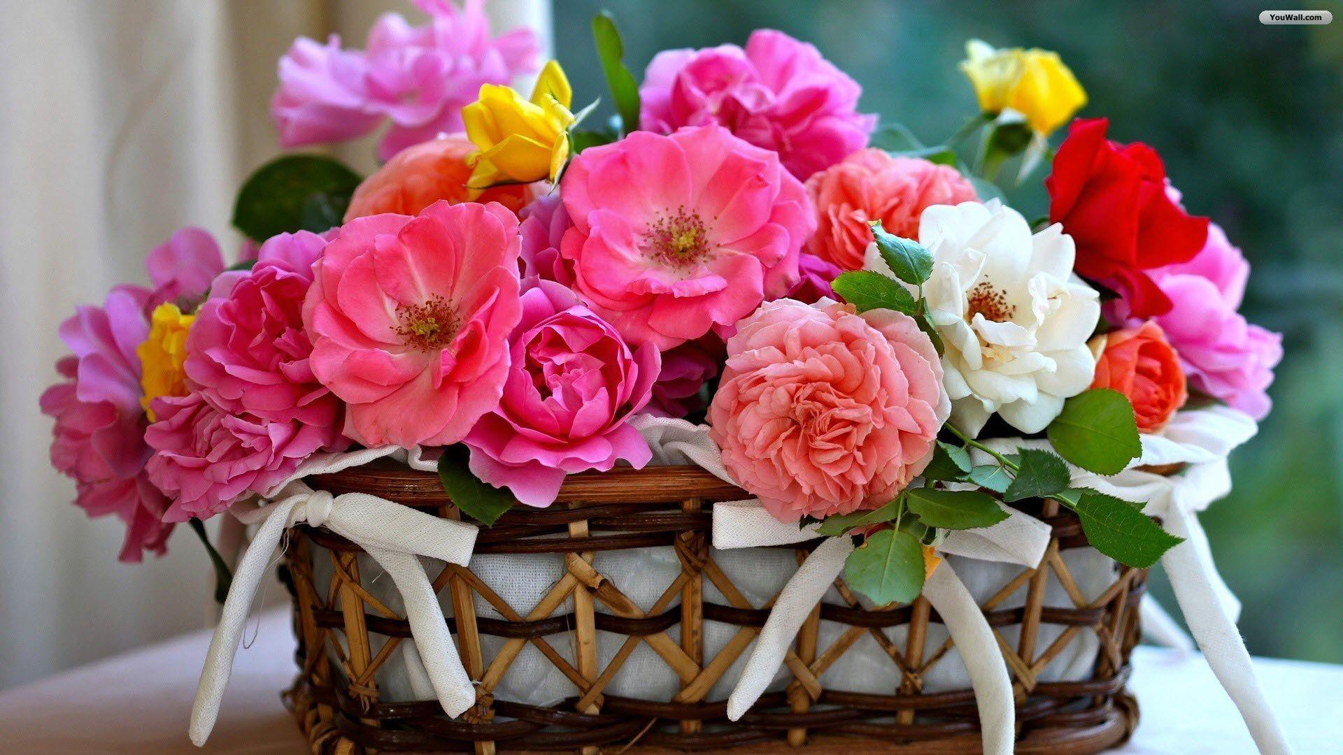Permalink to Elegant Flowers Bouquet Wallpaper