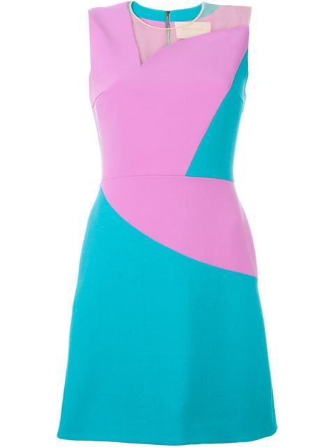 Shop Roksanda panelled colour block dress in Hampden from Charleston ...