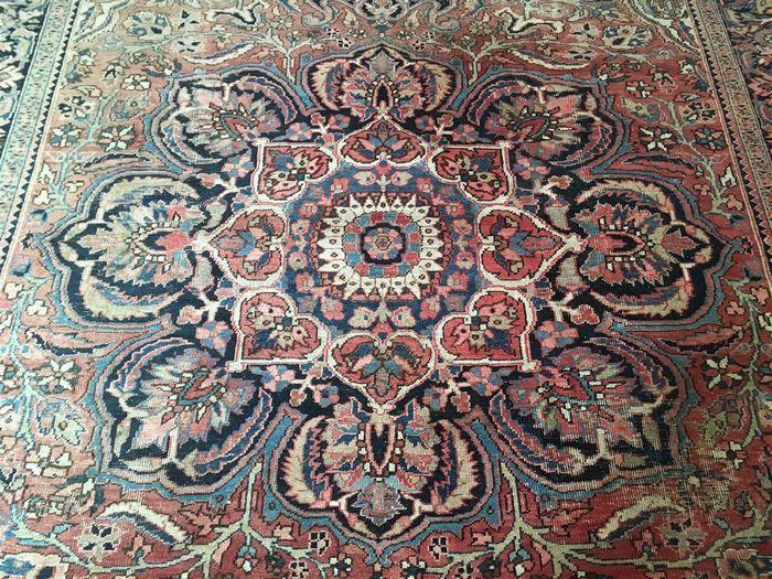 Tappeto persiano Heriz, 385 x 268 cm, senza prezzo di riserva, l ...