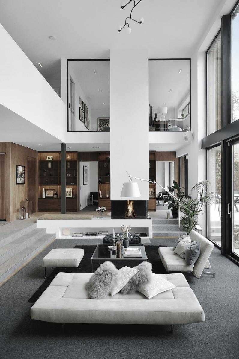 Erweitern Sie Ihr Zuhause mit Glasvorhängen, Schiebedächern, Glasgeländern und Windschutzsche... #moderninteriors
