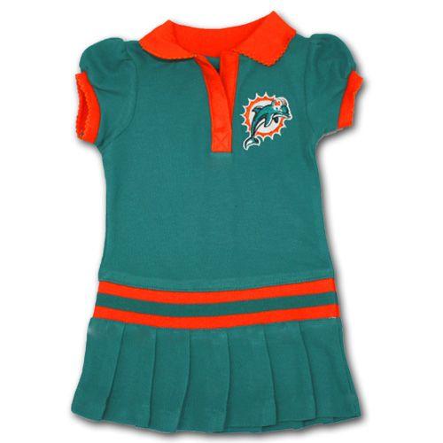 e0366405 Miami Dolphins Kids Dress #Miami #Dolphins #Baby #Toddler #Dress ...