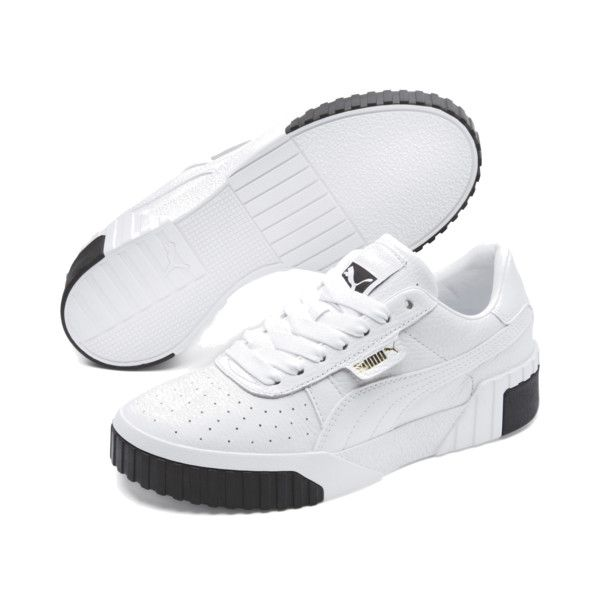 ff20beef2bb Image 2 of Cali Women s Sneakers in Puma White-Puma Black