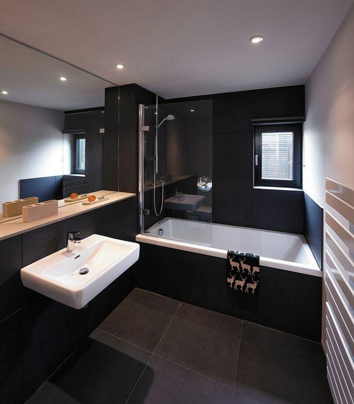 color negro diseo elegante para baos modernos y con fotos y consejos para la creacin de baos modernos y vintage en negro