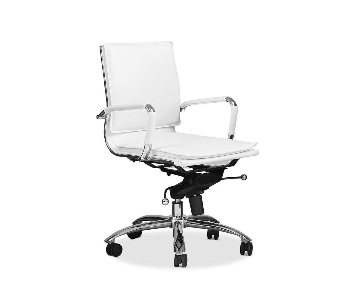 Brock Low Back Office Chair In 2020 Office Chair Scandinavian Office Chairs Chair