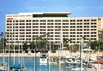 Marriott Marina Del Rey Hotel Los Angeles California Los