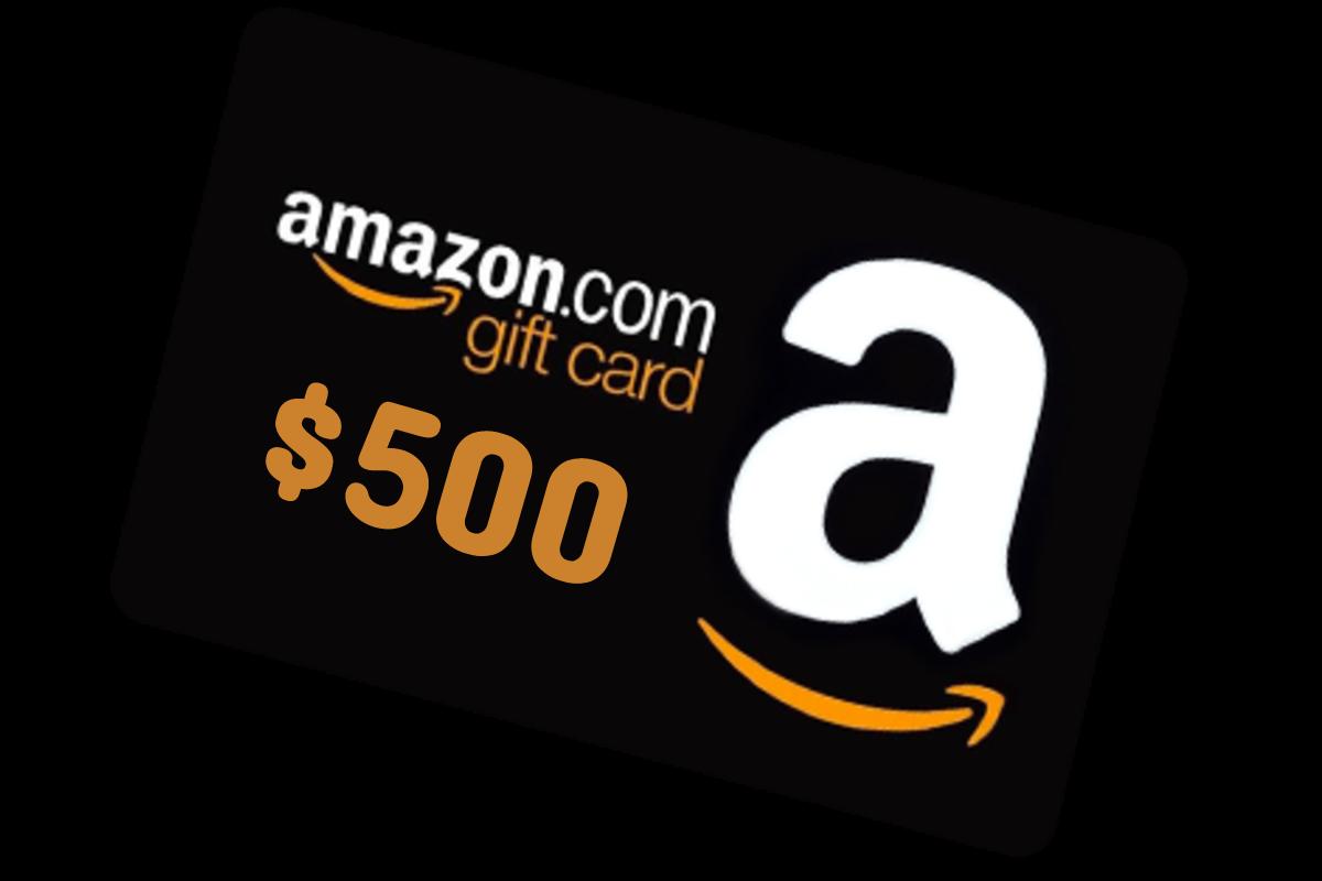 Win 500 Amazon Gift Card Smart Consumer Life Gift Card Generator Amazon Gift Cards Free Gift Card Generator