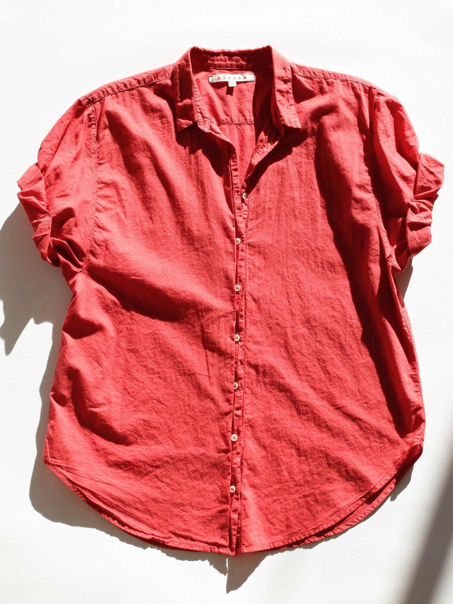 Xirena Womens Channing Button Down Shirt