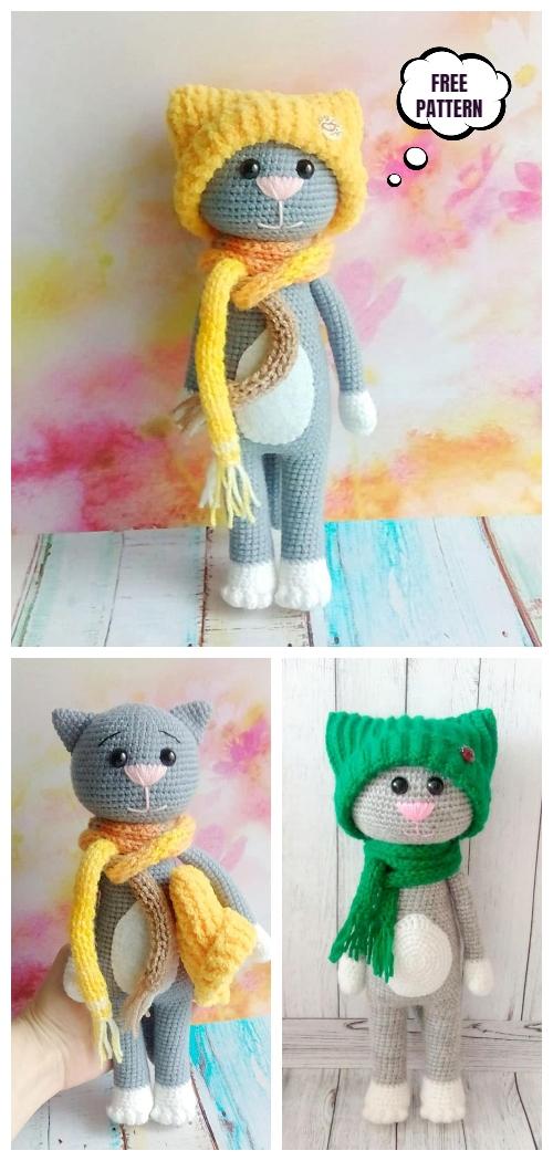 Free Pattern Crochet Amigurumi Free Pattern Amigurumi Monkey Hkeln ... | 1050x500