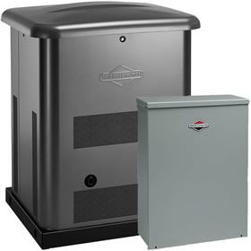 Briggs Stratton 40450 10kw Standby Generator System Steel 200a Service Disconnect Ac Shedding Standby Generators Briggs Stratton Generation