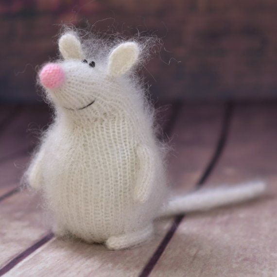 Mouse pattern knit toy mouse amigurumi knitted pattern knitted toy patterns knit animals mouse stuffed toy halloween mouse toy easter decor