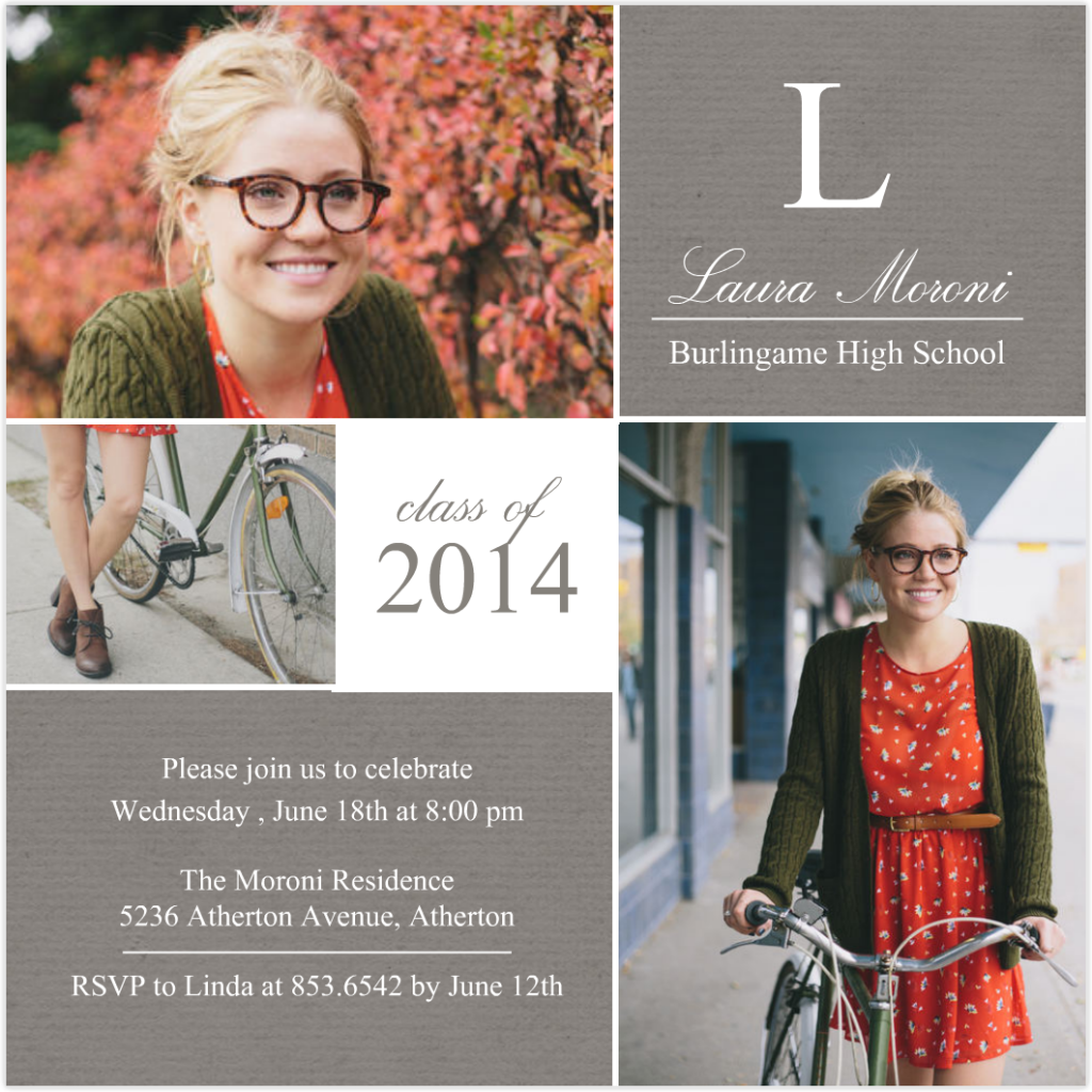 make your own graduation party invitations ideas