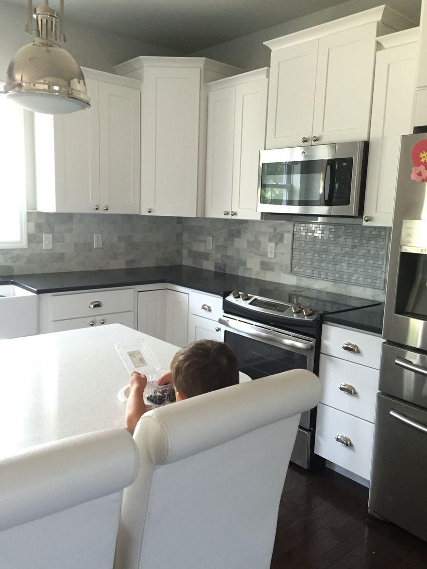 White Kitchenwolf Dartmouth Cabinets Marble Subway Tile Adorable Lowes White Kitchen Cabinets Review