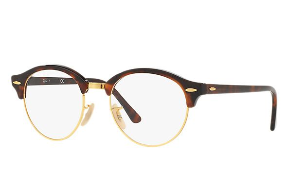 02d1eae828 Ray-Ban 0RX4246V-CLUBROUND OPTICS Tortoise
