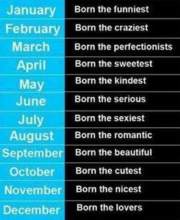 Month September Born November Born Birth Month Quotes