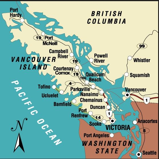 Mapa De Vancouver Vancouver Guia Turistico Viajes