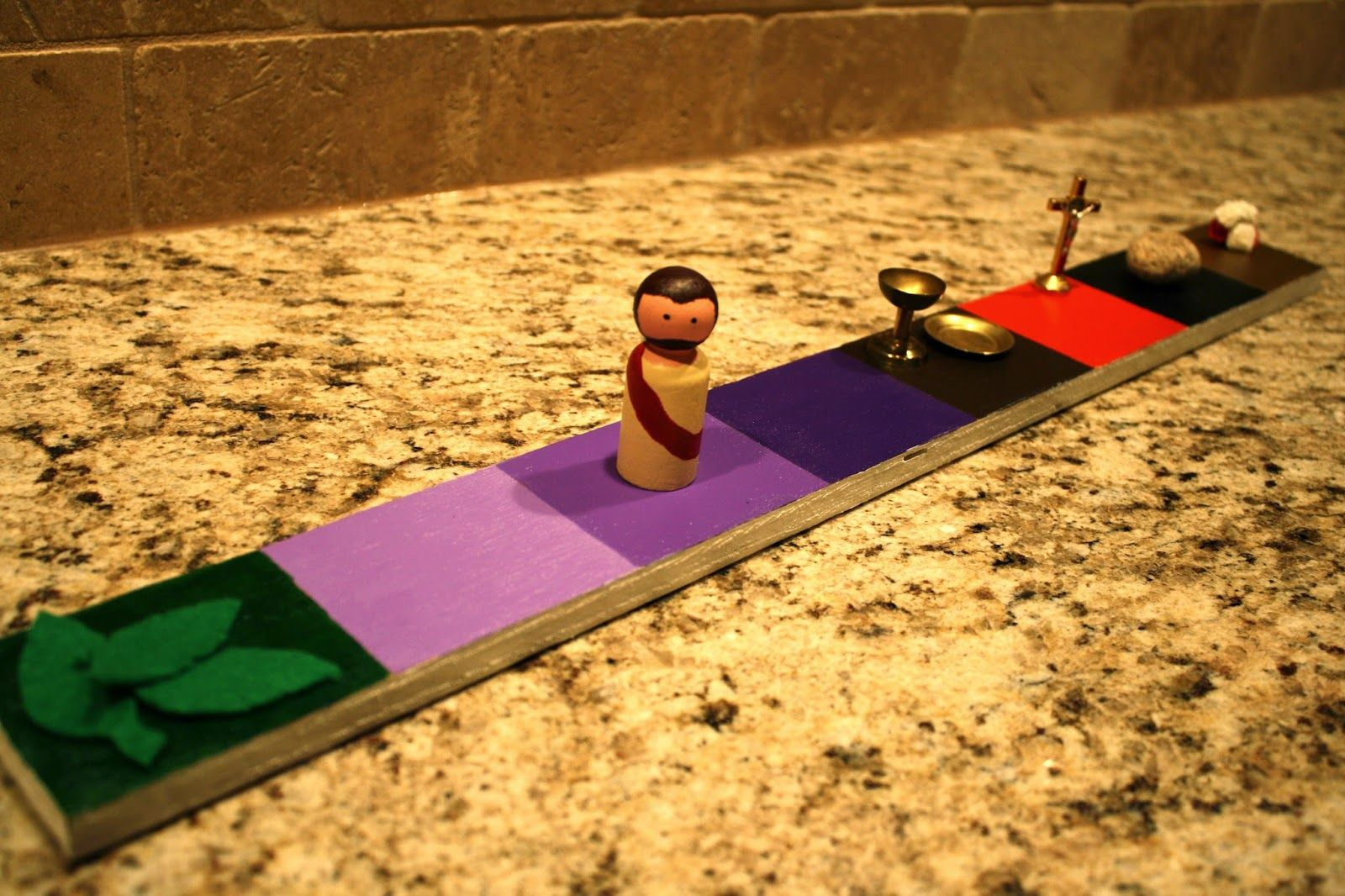 Moving Jesus Along A Holy Week Path An Activity For Kids Catholic Missionary Family