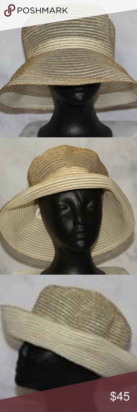 Gold Metallic Top Hat Metallic Top Top Hat Hats