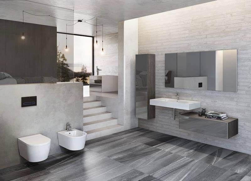 10 Bai Moderne de unde sa te inspiri -    ideidesigninterior - laminat für badezimmer