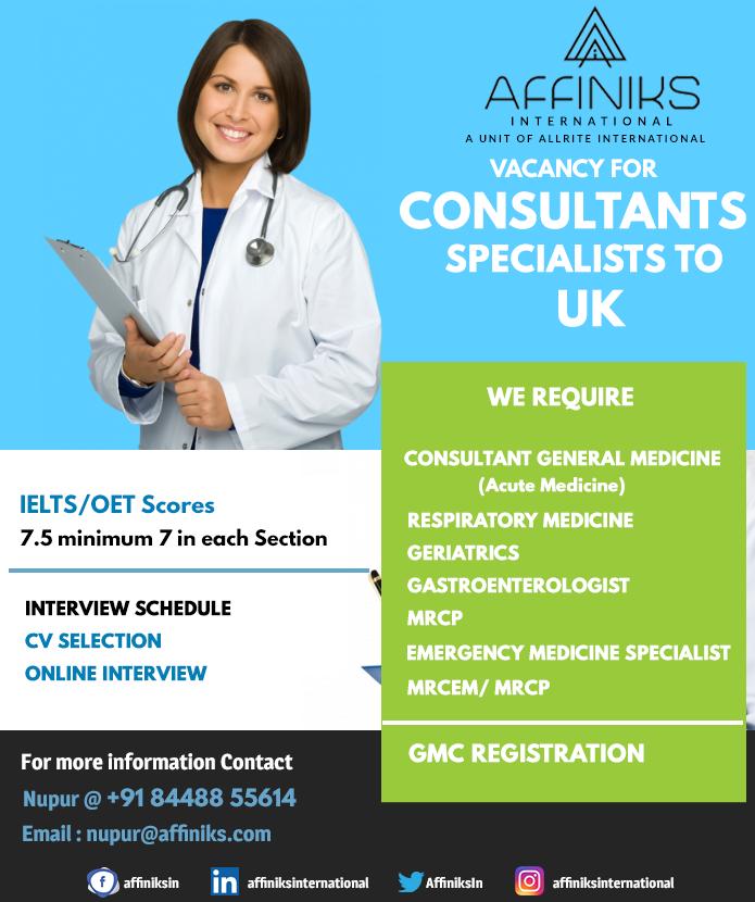 Doctors Vacancy In Uk In 2020 Acute Medicine Nursing Jobs