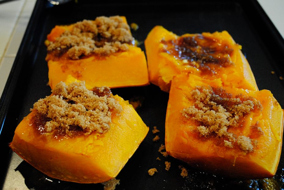 Banana Squash With Brown Sugar And Butter With Images Cooking