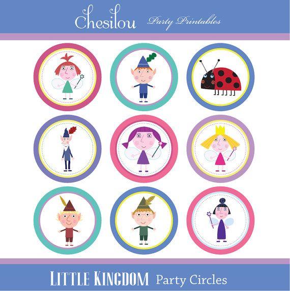 Customized Ben & Holly\'s Little Kingdom Digital Printable Birthday ...