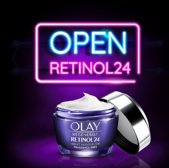 Regenerist Retinol 24 Night Eye Cream By Olay