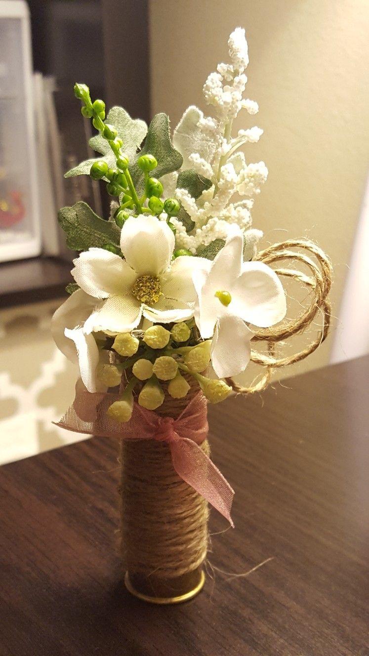 Shotgun Shell Wedding Boutonniere From Hen House Designs Httpswww