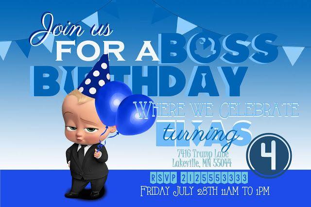 baby birthday party invitations