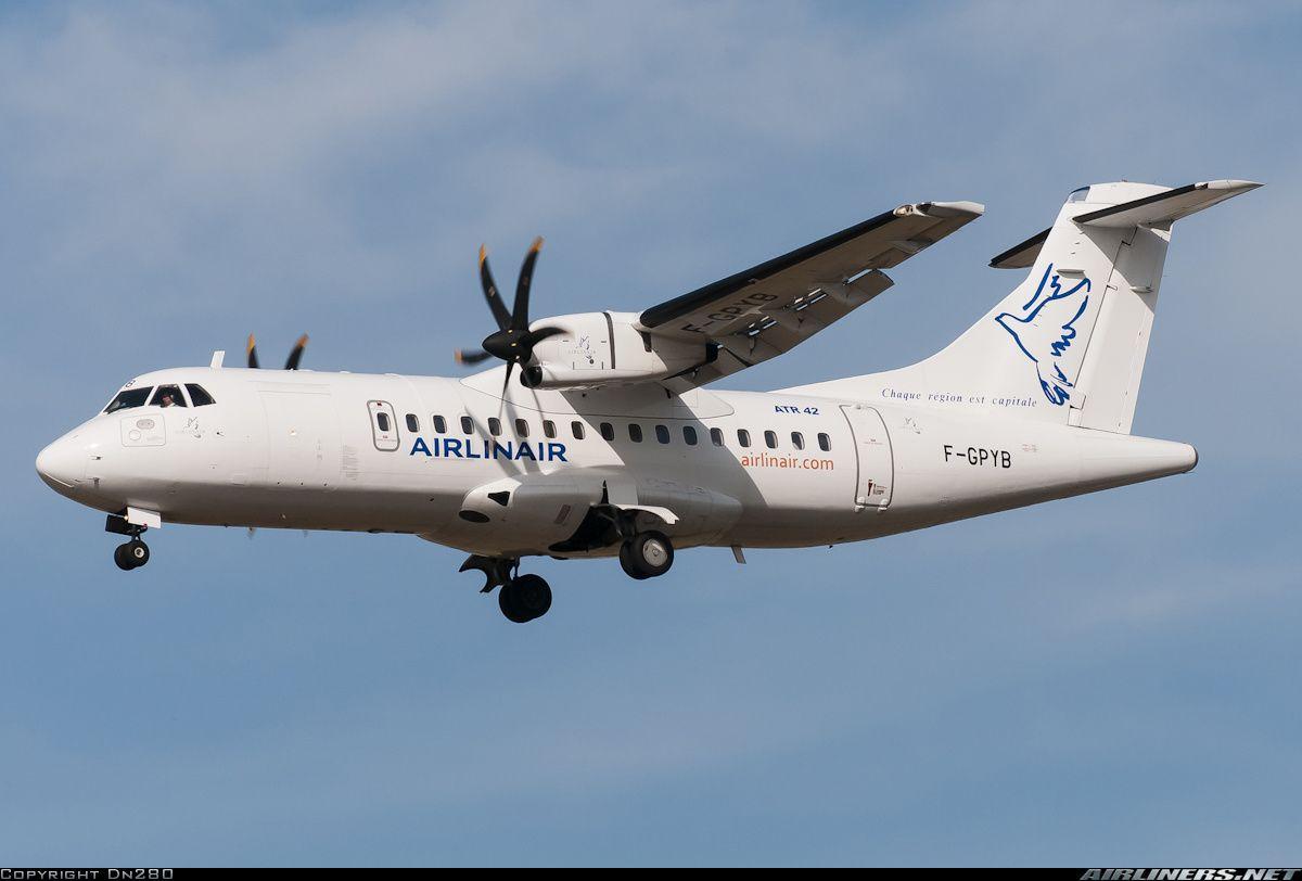 Airlinair F-GPYB ATR ATR-42-500 aircraft picture
