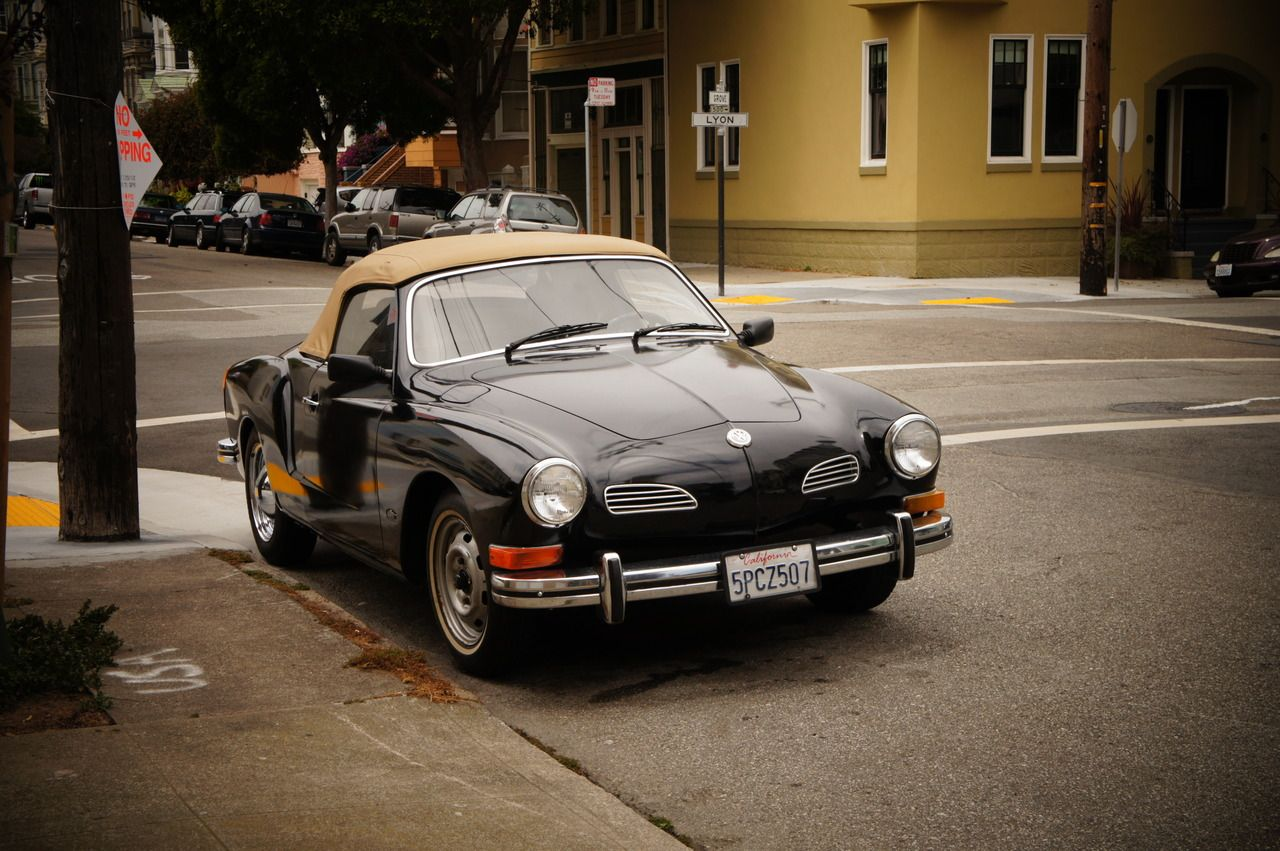 From my brief San Francisco trip. The VW pic (see previous post) inspired this vintage car post.