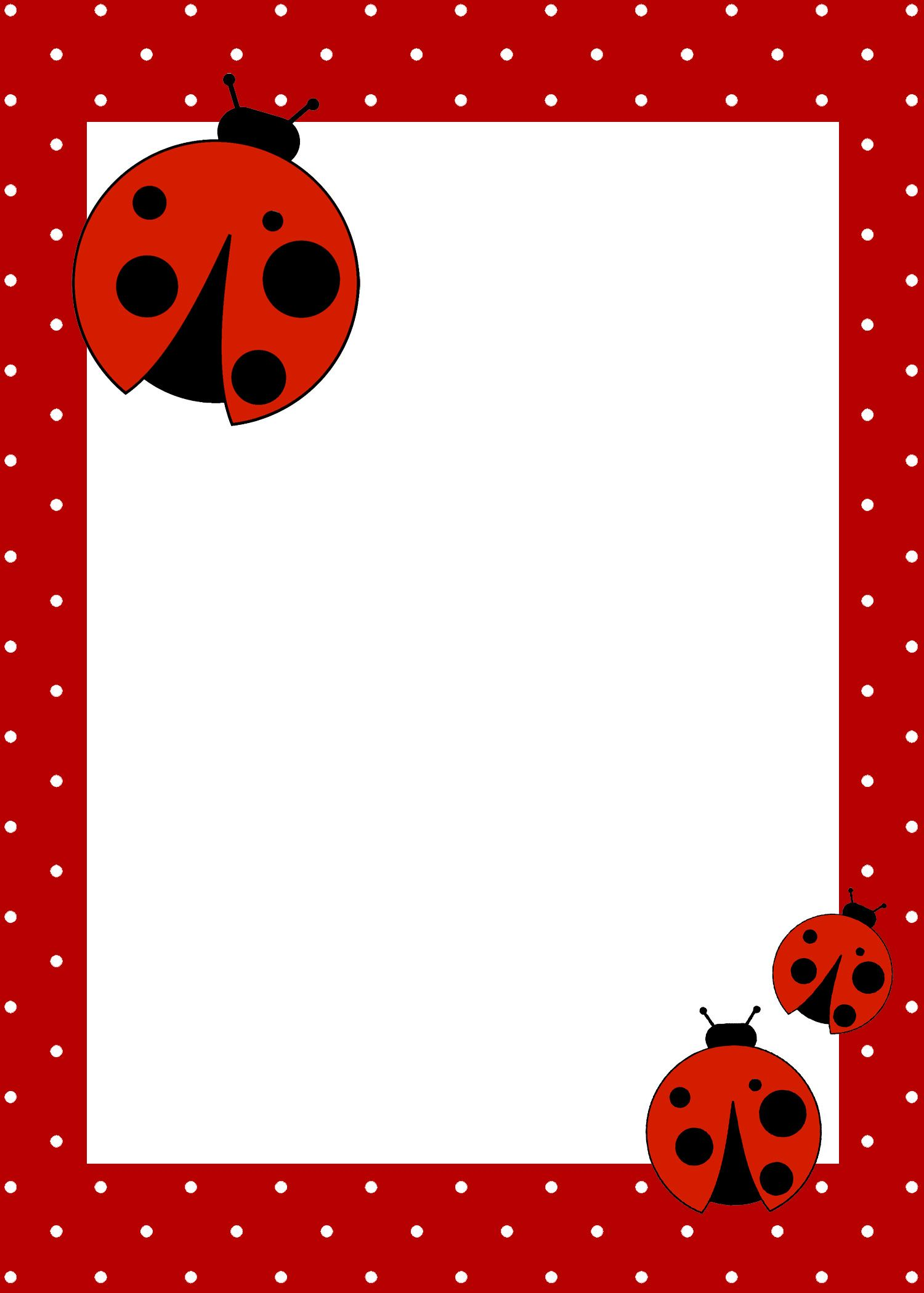Ladybug Themed Birthday Party with FREE Printables – Ladybug Invitations 1st Birthday