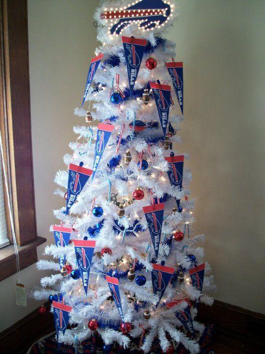 Christmas Tree Bill.Buffalo Bills Christmas Tree 6 Tall My Hubby And I Need