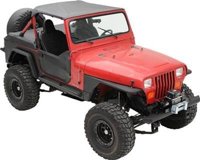 Xrc Armor Front Tube Fenders With 3 Flare Jeep Wrangler Yj Jeep Wrangler Yj Wrangler