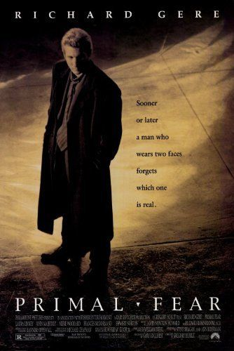 Primal Fear 1996 Primal Fear Richard Gere Streaming Movies