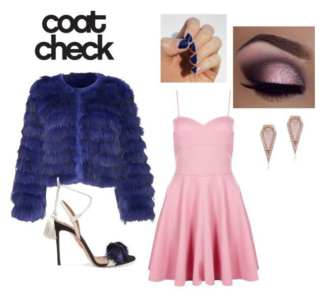"""""""Untitled #4"""" by bakerkatie624 ❤ liked on Polyvore featuring Alice + Olivia, Boohoo, Aquazzura, Anne Sisteron, SoGloss and statementcoats"""