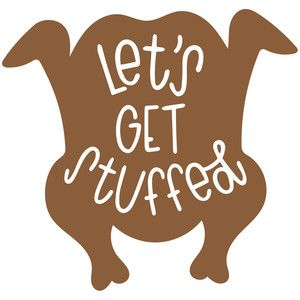 Download Let's get stuffed   Silhouette design, Silhouette cameo ...